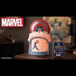 Brand New Captain America Scentsy Warmer!